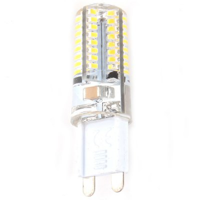 Zweihnder G9 5W 450Lm 64 x SMD 3014 Warm White LED Corn Light ( 2700 - 3000K  2PCS )LED Light Bulbs<br>Zweihnder G9 5W 450Lm 64 x SMD 3014 Warm White LED Corn Light ( 2700 - 3000K  2PCS )<br><br>Brand : Zweihnder<br>Base Type: G9<br>Type: Corn Bulbs<br>Output Power: 5W<br>Emitter Type: SMD 3014 LED<br>Total Emitters: 64<br>Theoretical Lumen(s): 500Lm<br>Actual Lumen(s): 450Lm<br>Wavelength/Color Temperature: 2700-3000K<br>Voltage (V): AC 220-240<br>Angle: 360<br>Lifespan: 50000 hrs<br>Features: Energy Saving, Low Power Consumption, Long Life Expectancy<br>Function: Home Lighting, Studio and Exhibition Lighting, Outdoor Lighting<br>Available Light Color: Warm White<br>Sheathing Material: Silicone<br>Product Weight: 0.016 kg<br>Package Weight: 0.040 kg<br>Product Size (L x W x H): 5.1 x 1.6 x 1.6 cm / 2.00 x 0.63 x 0.63 inches<br>Package Size (L x W x H): 7 x 4.2 x 3 cm / 2.75 x 1.65 x 1.18 inches<br>Package Contents: 2 x Zweihnder G9 5W 450Lm LED Corn Light