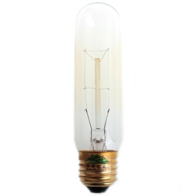 2Pcs Zweihnder E27 40W 500Lm Edison Filament Bulb Warm White Tungsten Light ( 2700 - 3000K )