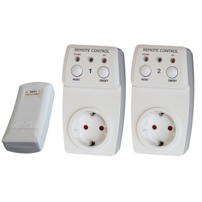 TS - 831 - 2 EU Plug Remote Wireless Controller Socket Set Switch for Lamps Household Appliance ( 2Pcs )Power Strips<br>TS - 831 - 2 EU Plug Remote Wireless Controller Socket Set Switch for Lamps Household Appliance ( 2Pcs )<br><br>Model: TS - 831 - 2<br>Max Current: 10A<br>Voltage: 120V - 230V<br>Remote Frequency: 433.92MHz<br>Remote Range: Approx 20m<br>Product Weight: 0.400 kg<br>Package Weight: 0.556 kg<br>Product Size  ( L x W x H ): 9 x 4 x 2 cm / 3.54 x 1.57 x 0.79 inches<br>Package Size ( L x W x H ): 20 x 8.5 x 15 cm / 7.86 x 3.34 x 5.90 inches<br>Package Contents: 2 x Socket, 1 x Remote Controller,1 x English Manual