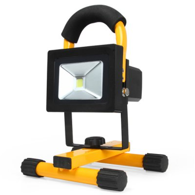 BAILONG 20W 2400Lm Water-resistant LED Flood Light Rechargeable Security Lamp with Car Charger ( 100 - 240V US Plug )
