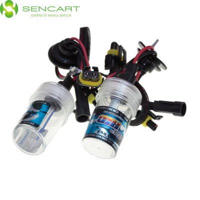 Sencart 880 881 H27 55W 4500LM 8000K Cool White Light HID Xenon Car Headlamp DC 12V - SENCART - SENCARTLED Light Bulbs<br>Sencart 880 881 H27 55W 4500LM 8000K Cool White Light HID Xenon Car Headlamp DC 12V<br><br>Brand: Sencart<br>Type: Car Light<br>Car light type: Headlamp, Fog Light, Daytime Running Light, High / Low Beam Lamp<br>Compatible models: 880 881 H27<br>Lumens: 4500<br>Color Temp: 8000K, 4300K, 6000K<br>Available Light Color: White, Natural White, Cold White<br>Wattage (W): 55<br>Voltage (V): DC 12<br>Features: High Output, IP65 Waterproof Standard, Easy to use<br>Sheathing Material: Glass, ABS, Plastic<br>Certificate: CE<br>Product weight: 0.035 kg<br>Package weight: 0.095 kg<br>Product size (L x W x H): 7.1 x 4 x 4 cm / 2.79 x 1.57 x 1.57 inches<br>Package size (L x W x H): 9 x 6 x 6 cm / 3.54 x 2.36 x 2.36 inches<br>Package Contents: 2 x 880 8000K HID Car Bulb, 2 x Cable