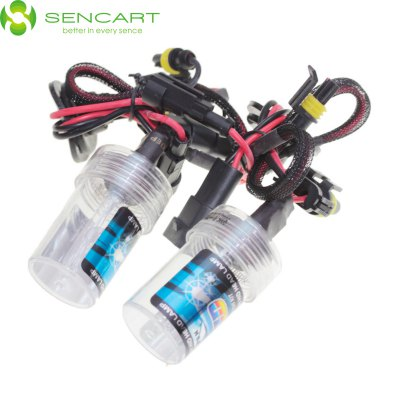 Sencart 9005 HB3 H10 P20D 35W 3300LM 4300K Natural White Light HID Xenon Car Headlamp DC 12V - SENCARTLED Light Bulbs<br>Sencart 9005 HB3 H10 P20D 35W 3300LM 4300K Natural White Light HID Xenon Car Headlamp DC 12V<br><br>Brand: Sencart<br>Type: Car Light<br>Car light type: High / Low Beam Lamp, Headlamp, Fog Light, Daytime Running Light<br>Compatible models: 9005 HB3 H10  P20D<br>Connector: 9005, HB3<br>Lumens: 3300<br>Color Temp: 4300K, 6000K, 8000K<br>Available Light Color: Cold White, White, Natural White<br>Wattage (W): 35<br>Voltage (V): DC 12<br>Features: IP65 Waterproof Standard, High Output, Easy to use<br>Sheathing Material: Plastic, ABS, Glass<br>Certificate: CE<br>Product weight: 0.035 kg<br>Package weight: 0.095 kg<br>Product size (L x W x H): 7.1 x 4 x 4 cm / 2.79 x 1.57 x 1.57 inches<br>Package size (L x W x H): 9 x 6 x 6 cm / 3.54 x 2.36 x 2.36 inches<br>Package Contents: 2 x 9005 4300K HID Car Bulb, 2 x Cable