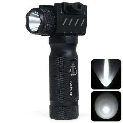 UTG MNT - EL228GP CREE Aluminum Foregrip with Integral Q5 LED 150LM Flashlight