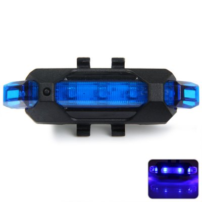Гаджет   USB Charging 5 LED 4 Modes 15 Lumens Night Cyling Warning Light Bicyle Tail Lamp Vests