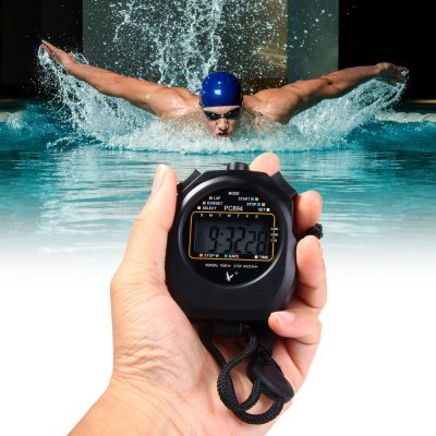 PC894 Digital Chronograph Sports Stopwatch Timer