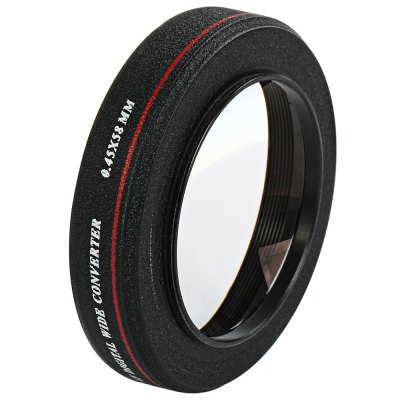 ZOMEI Ultra Slim 58mm 0.45X Wide Angle Filter Lens with Pouch for Nikon Nikon Sony Digital SLR Camera Lens