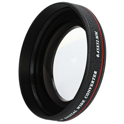 ZOMEI Ultra Slim 52MM 0.45X Wide Angle Filter Lens with Pouch for Nikon Nikon Sony Digital SLR Camera Lens