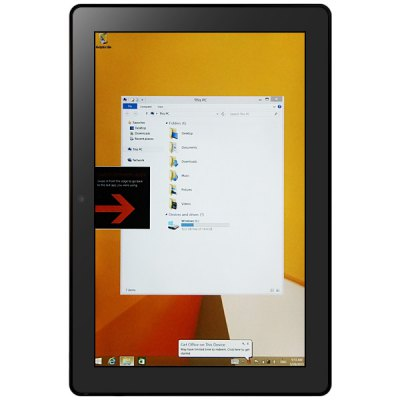Фотография PIPO W3f 10.1 inch Android 4.4 + Windows 8 Tablet PC
