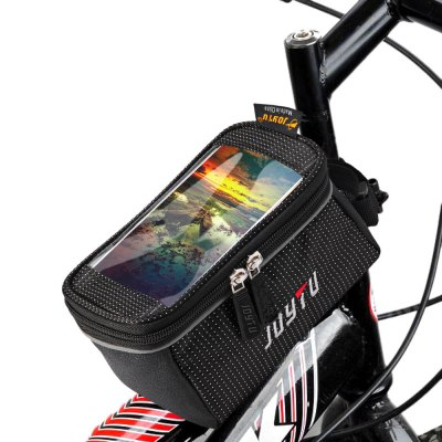 JOYTU Bicycle 5.5 inch Touch Screen Phone Saddle Bag Handlebar Cellphone Pack