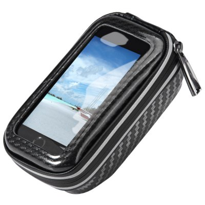 JOYTU Water Resistant Bicycle 4.5 inch Touch Screen Phone Saddle Bag Handlebar Front Tube Cellphone Pack