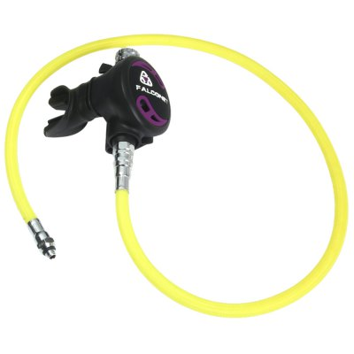 EZDIVE Standby Scuba Diving Air Balanced Second Stage Regulator Octopus 96cm Low Pressure Hose Set