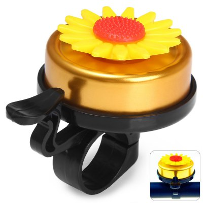 Sunflower Style Bicycle Handle Bar Bell