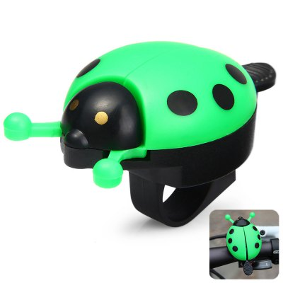 Beetle Shaped Bike Handlebar Bell Ring for Outdoor CyclingBike Bells and Locks<br>Beetle Shaped Bike Handlebar Bell Ring for Outdoor Cycling<br><br>Type: Bike Bell, Bike Bell, Other Accessories<br>For: Unisex<br>Material: Plastic<br>Functions: Flexible<br>Suitable for : Bike, Mountain Bicycle, Road Bike<br>Color: Blue, Green, Pink, Red<br> Product weight : 0.029 kg<br>Package weight : 0.06 kg<br>Product size (L x W x H)   : 9 x 4.5 x 3 cm / 3.54 x 1.77 x 1.18 inches<br>Package size (L x W x H)  : 10 x 5.5 x 4 cm / 3.93 x 2.16 x 1.57 inches<br>Package Contents: 1 x Beetle Shaped Bike Bell
