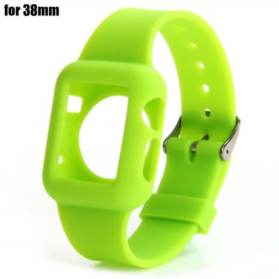 Replacement Silicone Wrist Watchband for iWatch Apple Watch 38mm
