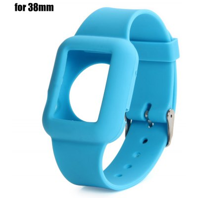 Colorful Fitness Replacement Silicone Strap Sports Watch Band for Apple Watch 38mm