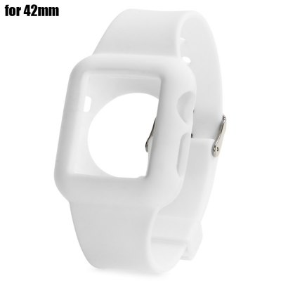 42mm Watchband with Buckle Clasp for Apple Watch