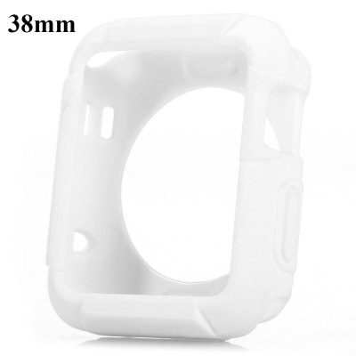 TPU Protective Cover Case with Solid Color for Apple Watch 38mm