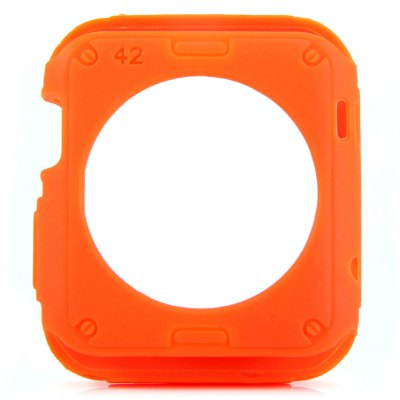 ФОТО TPU Protective Cover Case with Solid Color for Apple Watch 38mm