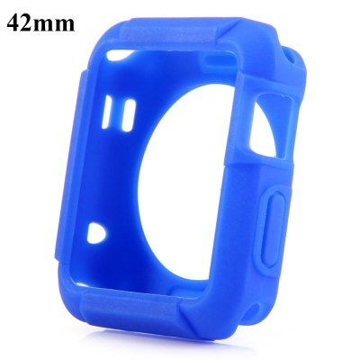 TPU Protective Cover Case with Solid Color for Apple Watch 42mm