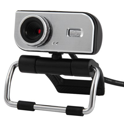 HD Clip-on Webcam 360 Degree Rotatable Web PC Camera with MIC for PC Laptop