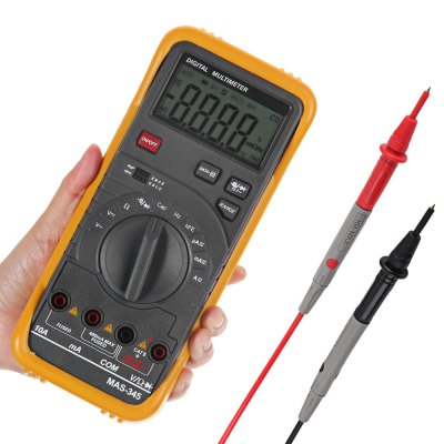 ФОТО MAS345 Multifunctional Digital Multimeter Voltmeter / Ammeter / Ohmmeter / Capacitance and Frequency Meter