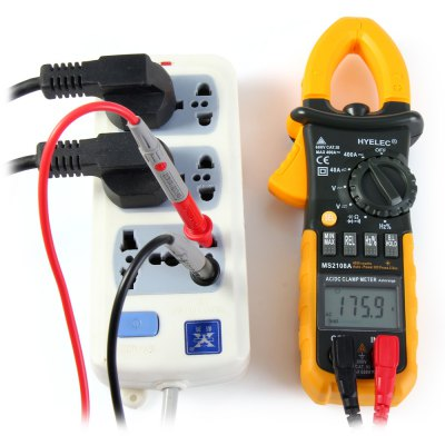 Фотография HYELEC MS2108A Multifunctional Digital DC AC Voltmeter / Ammeter / Ohmmeter / Frequency Duty Cycle Meter
