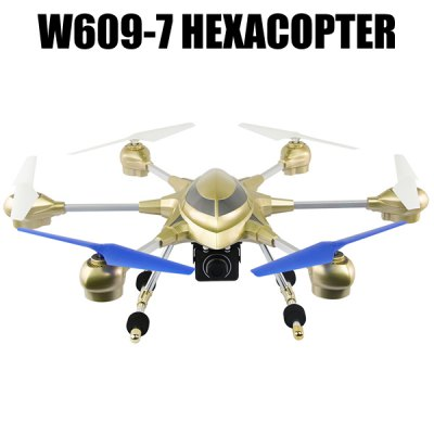 HUAJUN W609  -  7 5.8G FPV Pathfinder 2 6 Axis Gyro 4.5CH 2.4G RC Hexacopter with 2.0MP HD Camera 3D Eversion Aircraft - US PlugRC Quadcopters<br>HUAJUN W609  -  7 5.8G FPV Pathfinder 2 6 Axis Gyro 4.5CH 2.4G RC Hexacopter with 2.0MP HD Camera 3D Eversion Aircraft - US Plug<br><br>Age: Above 14 years old<br>Built-in Gyro: Yes<br>Channel: 4.5-Channels<br>Features: 5.8G FPV<br>Functions: With light, Turn left/right, 3D rollover, Camera, Sideward flight, Forward/backward, Hover, Up/down<br>Level: Intermediate Level<br>Material: Alloy, Electronic Components, Plastic<br>Mode: Mode 2 (Left Hand Throttle)<br>Motor Type: Brushed Motor<br>Night Flight: Yes<br>Package Contents: 1 x Hexacopter, 1 x Transmitter, 2 x Bracket, 4 x Spare Propeller, 1 x Screwdriver, 2 x Screw, 1 x Battery, 1 x Charger, 1 x Chinese + English Manual, 1 x Camera, 1 x Card Reader, 1 x Memory Card, 1 x<br>Package size (L x W x H): 60.00 x 52.00 x 18.00 cm / 23.62 x 20.47 x 7.09 inches<br>Package weight: 2.570 kg<br>Radio Mode: Mode 2 (Left-hand Throttle)<br>Remote Control: 2.4GHz Wireless Remote Control<br>Transmitter Power: 6 x 1.5V AA battery(not included)<br>Type: Quadcopter