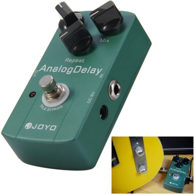 JOYO JF - 33 Aluminum Alloy Material True Bypass Design Electric Guitar Analog Delay Effect Pedal