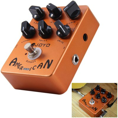 JOYO JF - 14 True Bypass Design American Sound Amp Simulator Electric Guitar Effect Pedal
