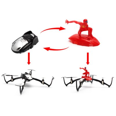 ФОТО JY Toys JY004A Inverted Flight Headless Mode 2.4G 4CH RC Quadcopter 6 Axis Gyro 3D Flip UFO One Key Return Aircraft