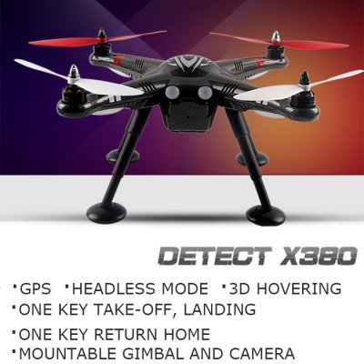 ФОТО XK Detect X380 GPS Headless Mode 2.4G RC Quadcopter Standard Configuration - EU Plug