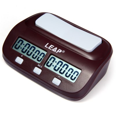 LEAP PQ9907 Electronic Board Game Chess Clock Timer for I-go
