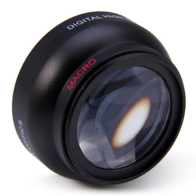 52mm 0.45X Fisheye Wide Angle Macro Lens for Nikon D3200 D3100 D5200