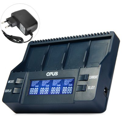 Opus BT - C900 Smart 9V Li-ion NiMH Battery Charger - EU Plug