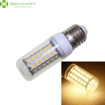 Sencart E27 5W 56 x SMD 5730 600LM 6000K Dimmable LED Light Bulb AC 110 - 240V