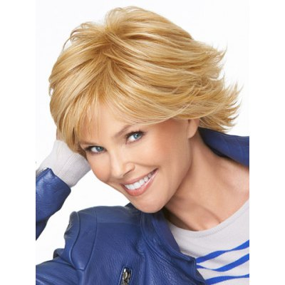 Sports Style Side Bang Fluffy Tilt Short Wavy Heat-Resistant Womens Blonde Synthetic Hair WigSynthetic Hair Wigs<br>Sports Style Side Bang Fluffy Tilt Short Wavy Heat-Resistant Womens Blonde Synthetic Hair Wig<br><br>Type: Full Wigs<br>Cap Construction: Capless<br>Style: Wavy<br>Material: Synthetic Hair<br>Bang Type: Side<br>Length: Short<br>Length Size(CM): 35.56<br>Length Size(Inch): 14<br>Weight: 0.210KG<br>Package Contents: 1 x Wig