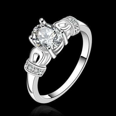 Chic Rhiestone Embellished Hollow Out Ring For Women