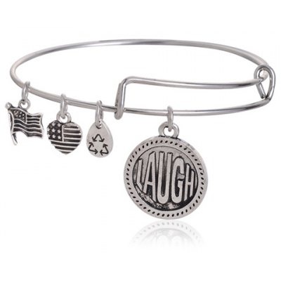 Classic Heart Letter Bracelet For Women