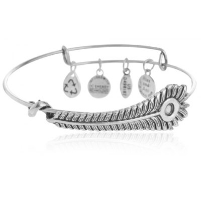 Classic Feather Round Bracelet