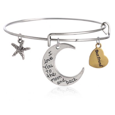 Classic Star Moon Bracelet For Women