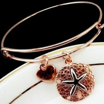 Heart Starfish Pattern Bracelet