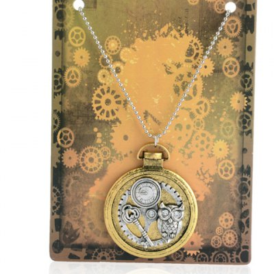 Chic Watch Pendant Necklace For Men