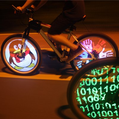 YQ8003 DIY Programmable Bicycle Spoke Light