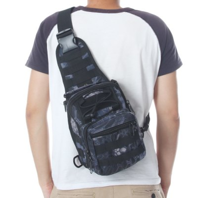 Nylon 5L Capacity Single Shoulder Bag