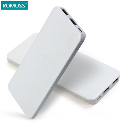 ROMOSS Polymos 5 5000mAh External Battery Pack Mobile Power Bank Portable Charger
