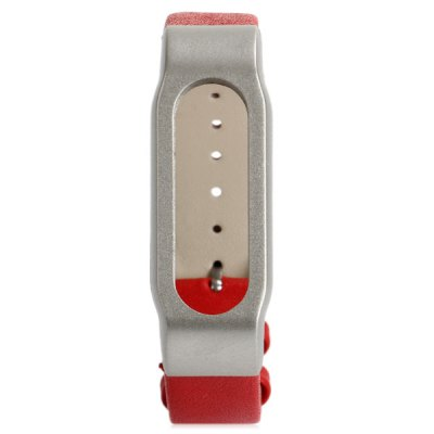 Leather Watch Band Anti-lost Design Strap for Xiaomi Miband / 1S