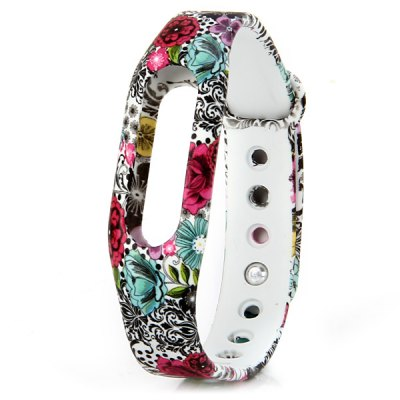 Xiaomi Miband / 1S Strap TPU Band with Flower Design