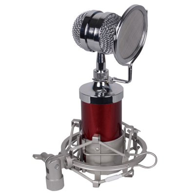 BM-8000 Condenser Sound Recording Microphone with Metal Shock Mount