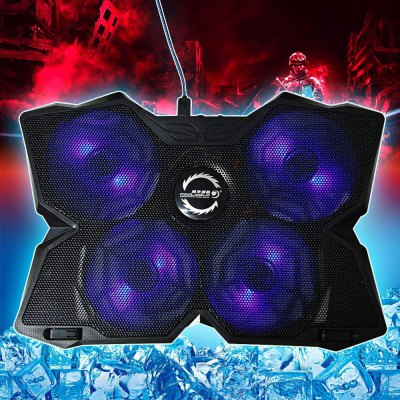 CoolCold Ice Magic 2 K25 USB Four Fans Notebook Cooler Pad Notebook Laptop Heat Sink