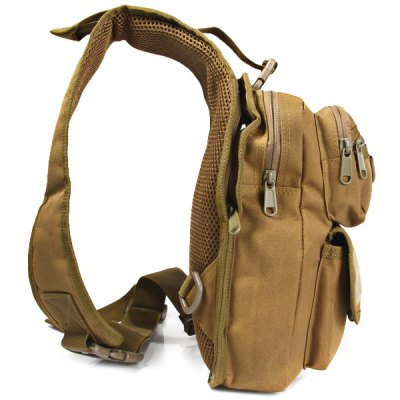 4.5L Capacity Outdoor Tactical Water Resistant Single Shoulder Chest Bag